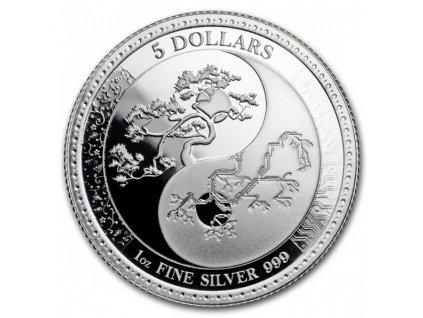 2018 1 oz tokelau silver equilibrium observe coin(2)