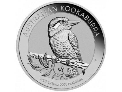 perth mint 110 oz platinum kookaburra 2021 bu 15