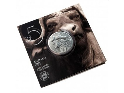 1 oz silver sam big five buffalo 2021 rand 5