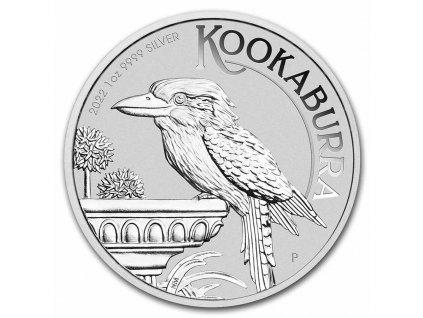 2022 australia 1 oz silver kookaburra bu 237978 slab