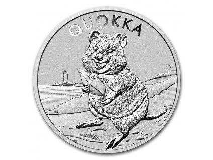 2020 australia 1 oz silver australian quokka bu 217471 slab