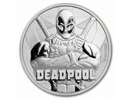 perth mint 1 oz silver 2018 marvel deadpool 1