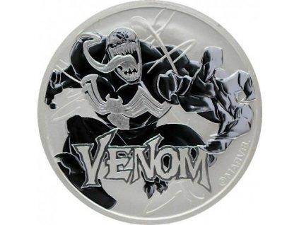 perth mint 1 oz silver 2020 marvel venom 1