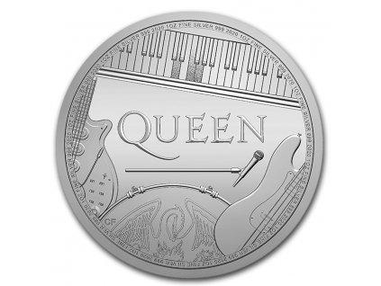 2020 great britain 1 oz silver music legends queen bu 208955 slab