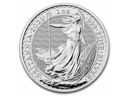 2021 great britain 1 oz silver britannia bu 219226 slab