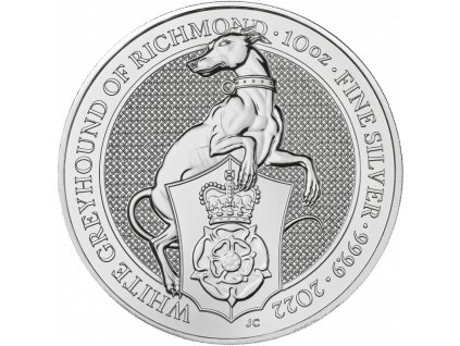uk 10 oz silver queen s beast 2020 yale of beaufort 10