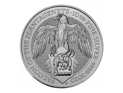 2020 uk 10 oz silver falcon