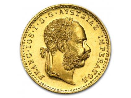 1915 austria gold 1 ducat bu prooflike 14772 obv