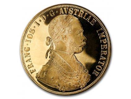 1915 austria gold 4 ducat au bu 8882 Obv