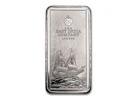 2021 250 gram silver 10 east india company ship coin bar 225100 obv