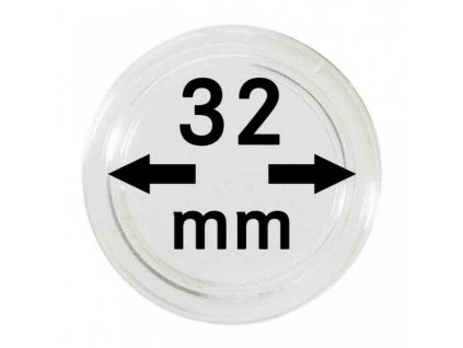 Muenzkapsel 32mm