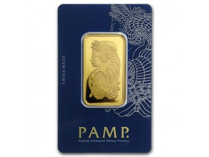 1 oz gold bar pamp suisse lady fortuna veriscan in assay 82236 slab