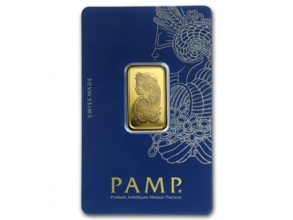 10 gram gold bar pamp suisse lady fortuna veriscan in assay 82239 Slab