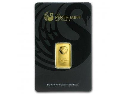 5 gram gold bar the perth mint in assay 57163 Slab