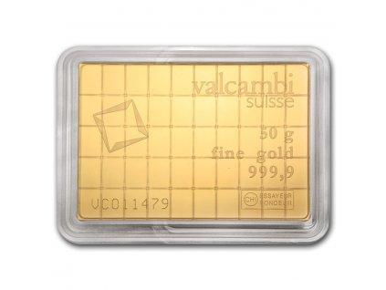 50 x 1 gram gold valcambi combibar in assay 74946 Rev