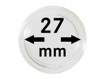 Muenzkapsel 27mm