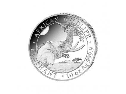 10 unze silber somalia elefant 2021 vs