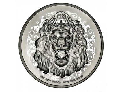 2021 1 oz silver niue roaring lion observe(2)