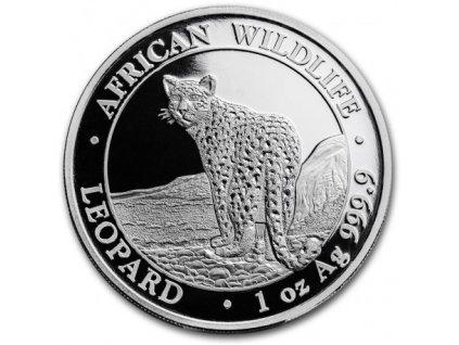 1 oz silver somalia leopard 2018 100 shillings