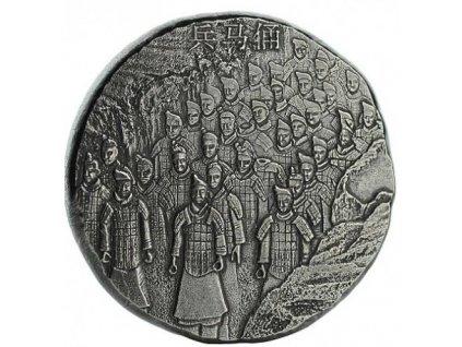5 oz silver terracotta army fiji 2020