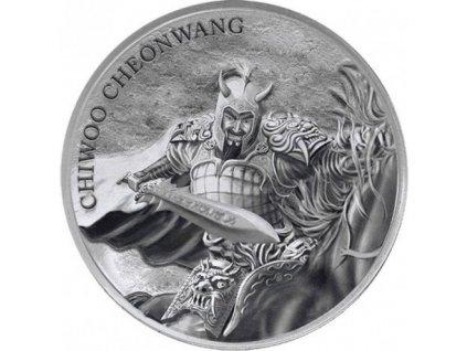 1 oz silver chiwoo cheonwang 2018 korea