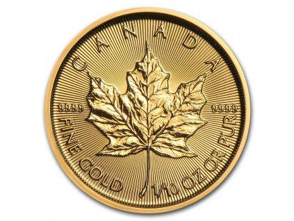 2021 canada 1 10 oz gold maple leaf bu 224959 slab