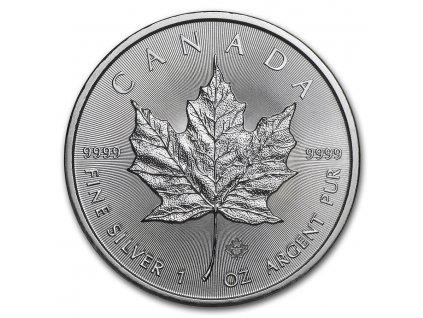 2021 canada 1 oz silver maple leaf bu 218770 slab