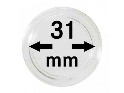 Muenzkapsel 31mm