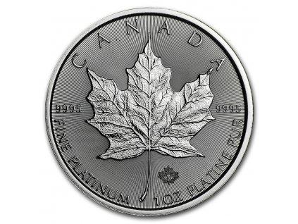 2021 canada 1 oz platinum maple leaf bu 224956 slab