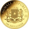 gold 110 oz elephant 2021 somalia 100 shillings