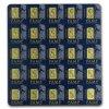 25x1 gram gold bar pamp suisse multigram25 in assay 80382 Slab