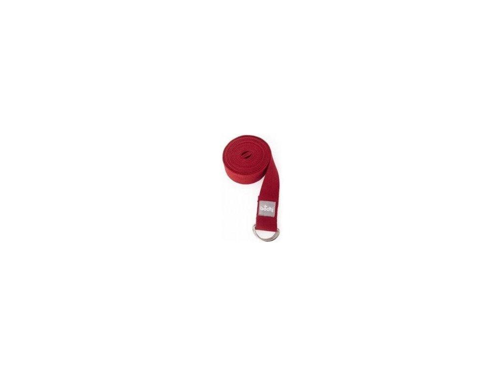 Přitahovací pruhy červená 2 spony