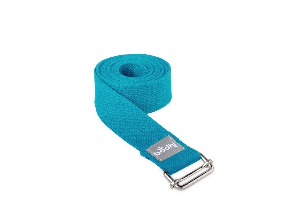 910spt yoga yogagurt asana belt 2 5 m schiebeschnalle gerollt petrol