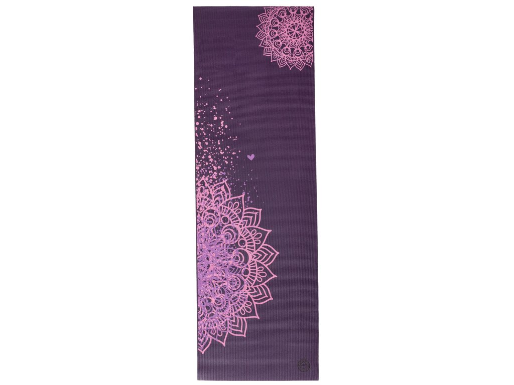 Leela mandala fialová 1