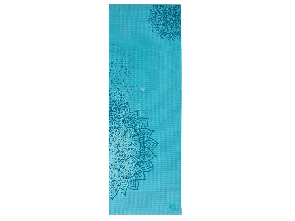 Leela mandala modrá