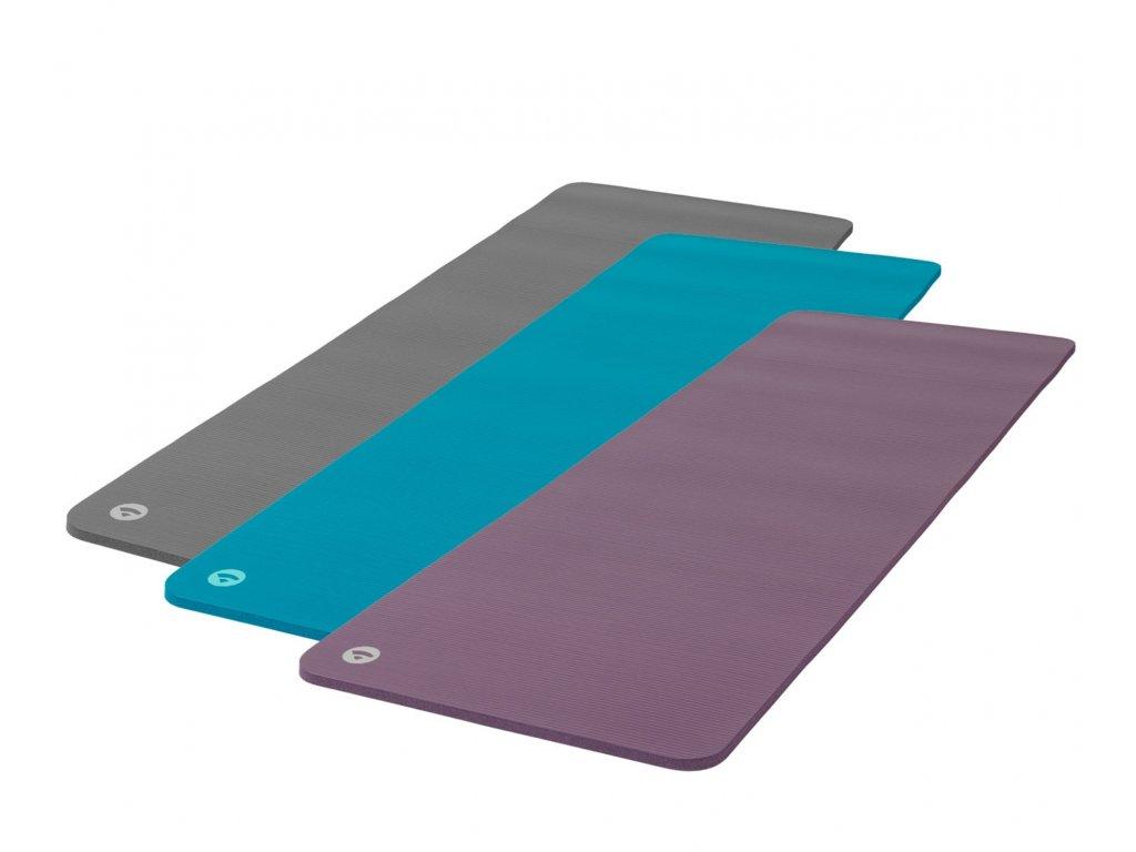 BODHI Gymnastická podložka pro fitness a Pilates,  180 x 60 x 1,5 cm, 3 barvy