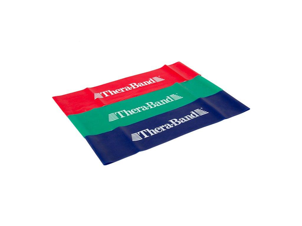 Tera-Band Loop cvičební guma smyčka (červená, zelená a modrá)