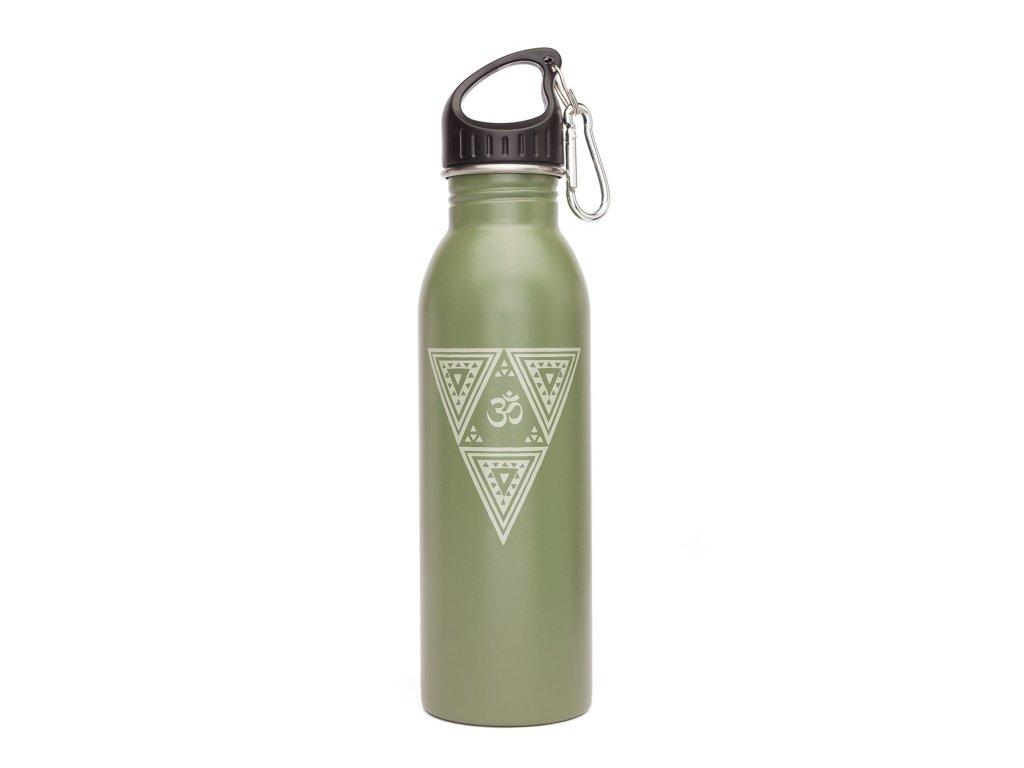Láhev na vodu zelená
