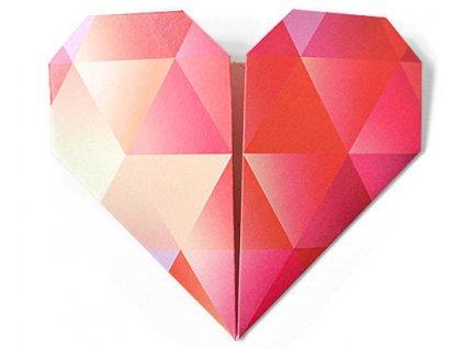origami srden pn polibek s vn broskv nadace pomozte dtem z1
