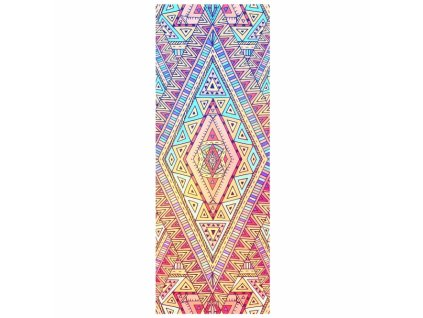 907eth yoga yogatuch grip 2 yoga towel tribal ethno exklusiv design