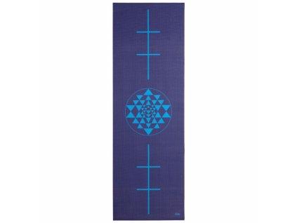 896by yoga leela yogamatte yantra alignment 183 x 60 cm 4 mm pvc dunkelblau