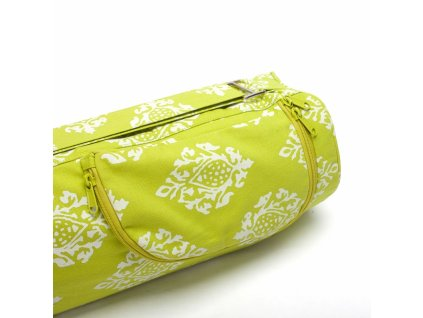 541lo yoga gemusterte yogatasche asana bag 60 ornament limone aussentasche
