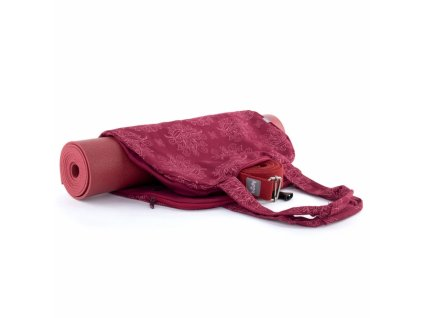 544ml yoga maharaja collection yogatasche namaste bag lotus berry variante