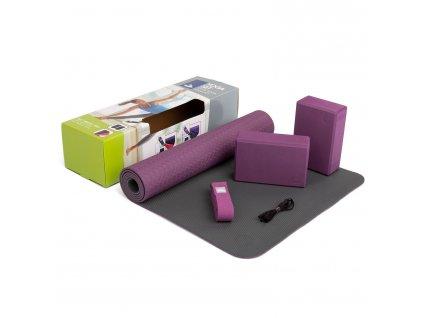 Yoga set lila balení