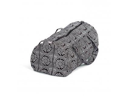 maharaja jóga taška černobílá