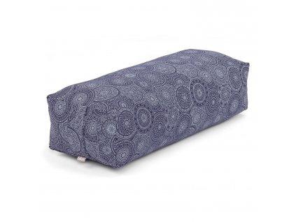 Kapok hranatý modrá mandala