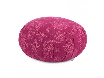 Meditační polštář Maharaja vínový