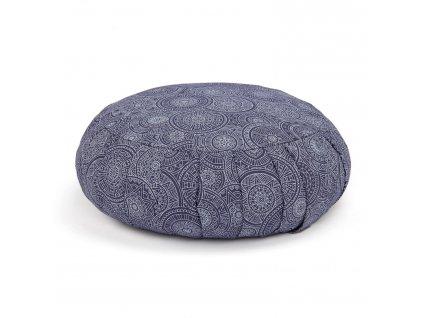 Meditační polštář Maharaja modrý Zafu