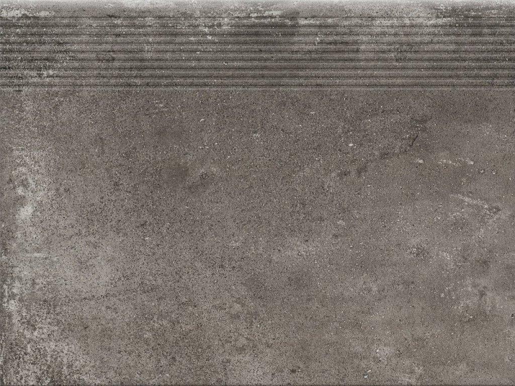 149759 23392 dlazba piatto antracyt schod prima 30x30x0 9 1