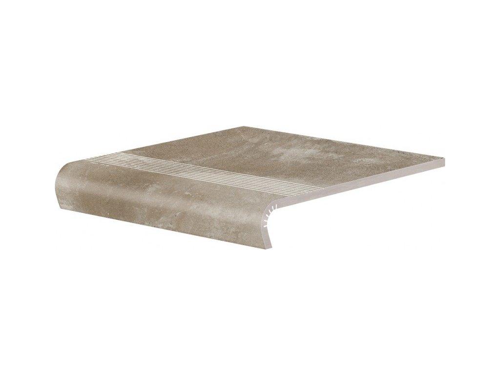 Keramická Dlažba Cerrad Piatto Sand Schodovka V-Shape 32x30 cm